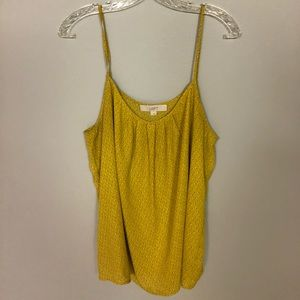 Loft Yellow Blouse